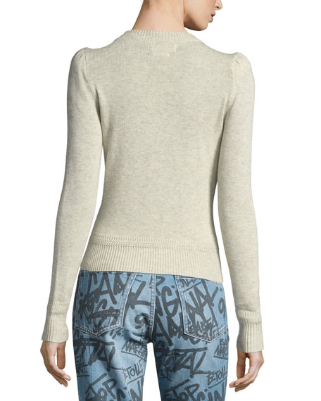 Klee Cutout Crewneck Sweater