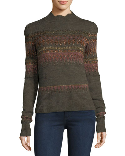 Blake Fair Isle Sweater