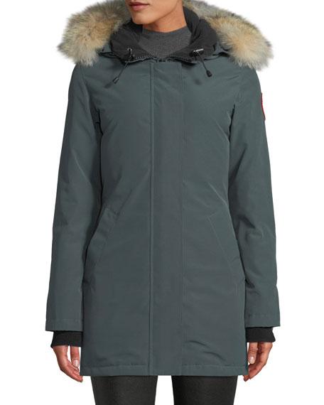 Canada Goose Victoria Fur-Hood Parka Jacket