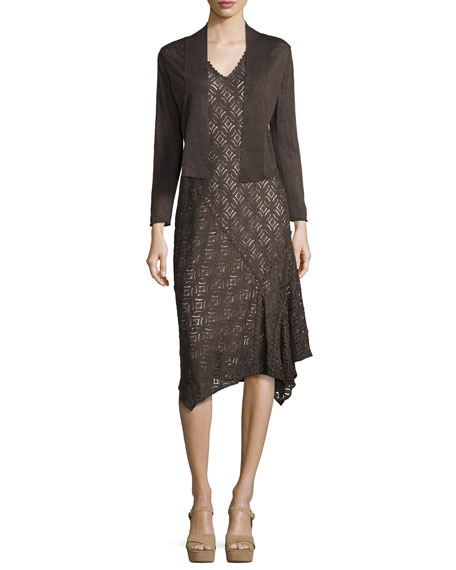 First Bloom Lace Dress, Dark Truffle