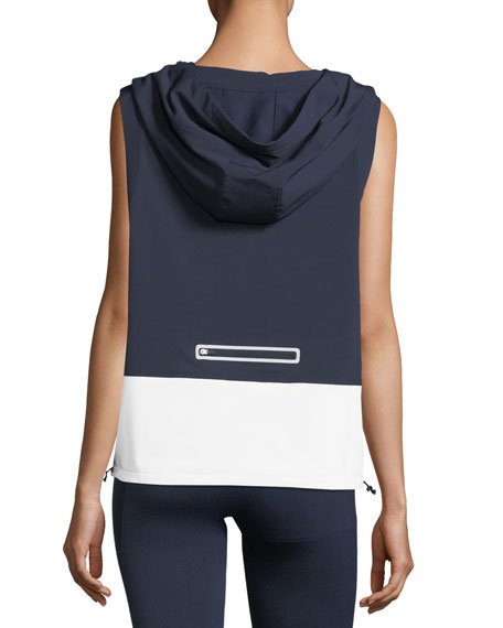 Hooded Running Performance Vest