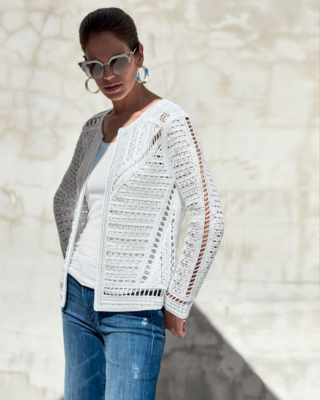 Crochet Topper Jacket