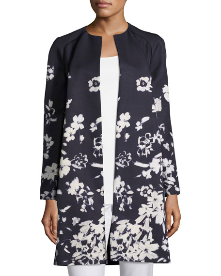 Makeda Augusto Impression Open-Front Topper Jacket