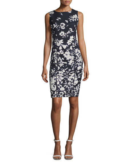 Lafayette 148 New York Evelyn Augusto Impression Floral-Print