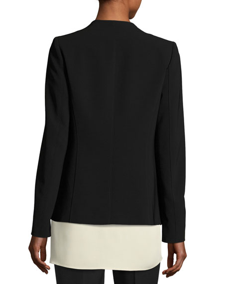 Dasha Sleek Tech Cloth Blazer Jacket