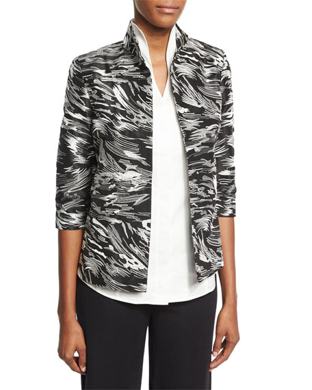 Dressed Up Swirl Jacket, Petite