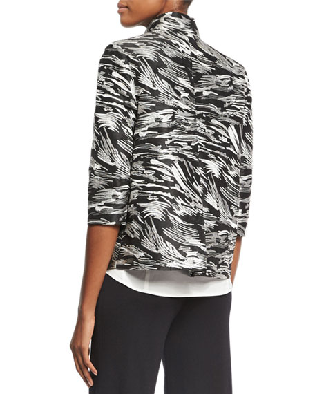 Dressed Up Swirl Jacket, Plus Size