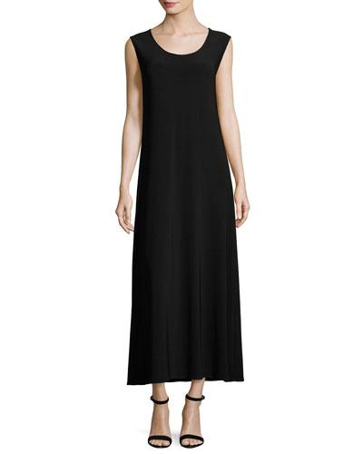 Sleeveless Knit Long Dress and Matching Items
