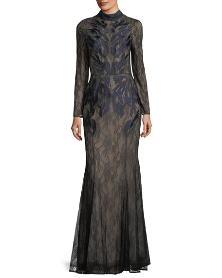 Coco Long sleeve gown ILLUSI