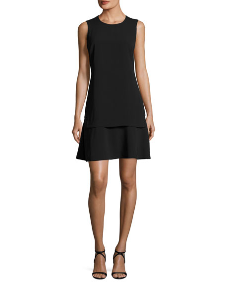 Kobi Halperin Astra Sleeveless Layered A-Line Dress
