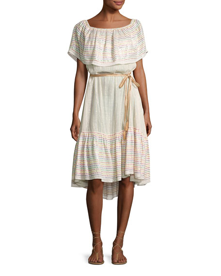 Amaya Goa Nights Off-the-Shoulder Dress, Multicolor