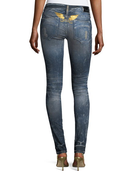 Marilyn Mid-Rise Skinny Jeans