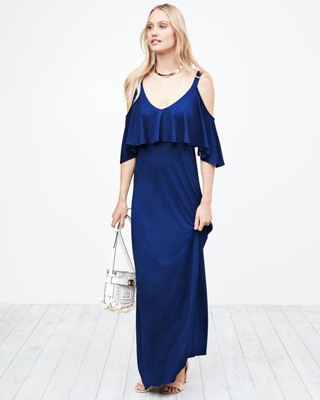 Jamee Open-Shoulder Maxi Dress