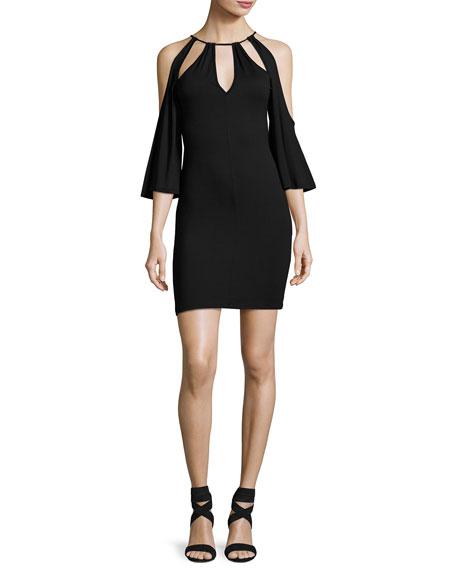 Rachel Pally Mandana-Cut Jersey Dress, Black, Plus Size