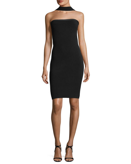 Elie Tahari Blossom Convertible Strapless Sweater Dress