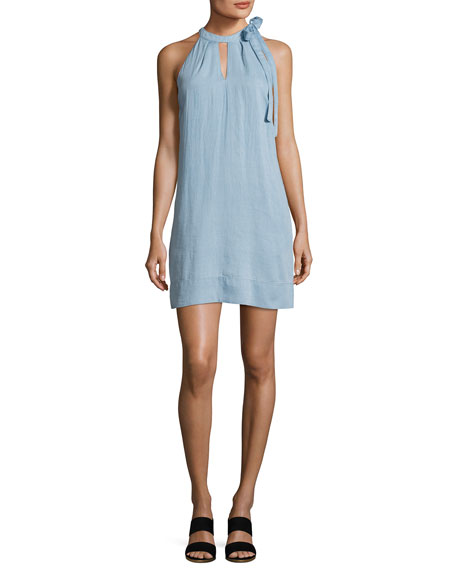 J Brand Esme Sleeveless Denim Dress, Graceful