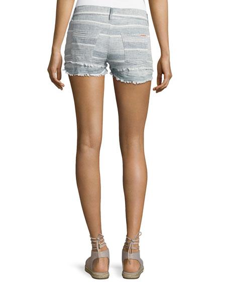 Midori Cutoff Denim Shorts, Indigo