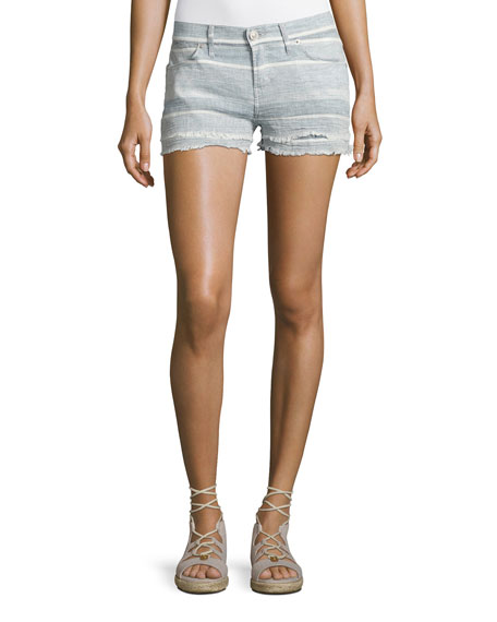 Women's Designer Shorts: Denim & Linen at Neiman Marcus