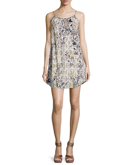 Haute Hippie One True Love Printed Mini Dress