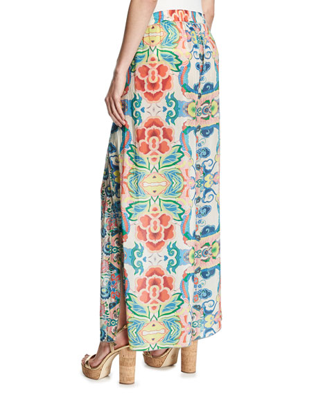 Teemy Printed Georgette Pants