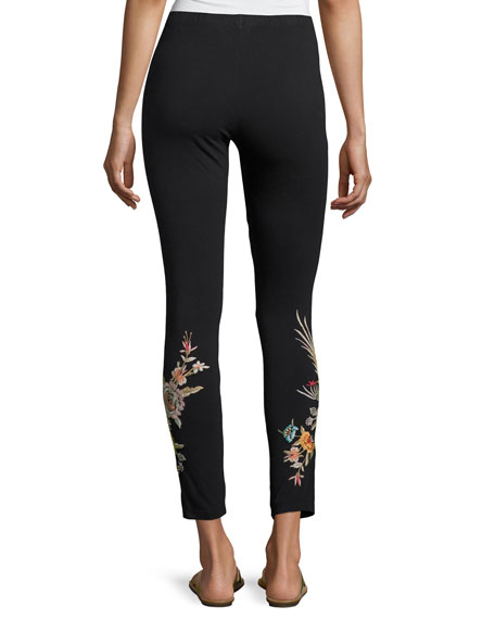 Melina Embroidered Leggings