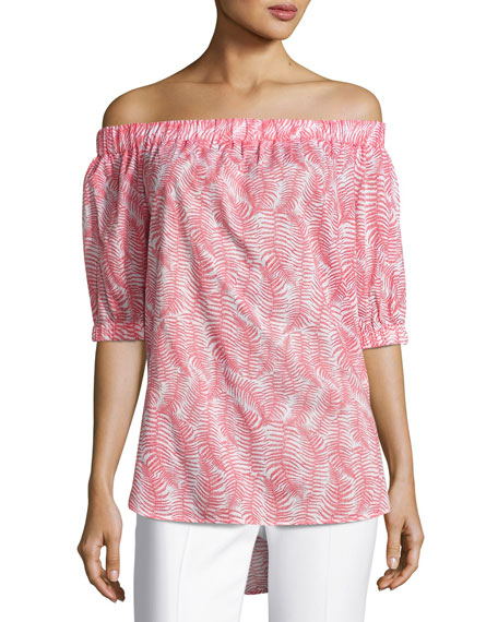 Pella Fern Off-the-Shoulder Top