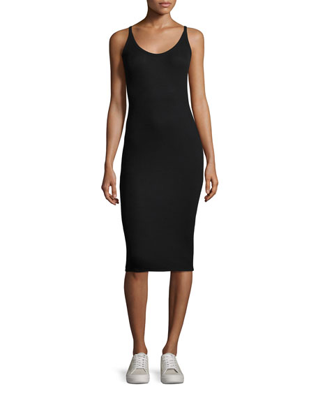 ATM Anthony Thomas Melillo Modal Rib Midi Tank