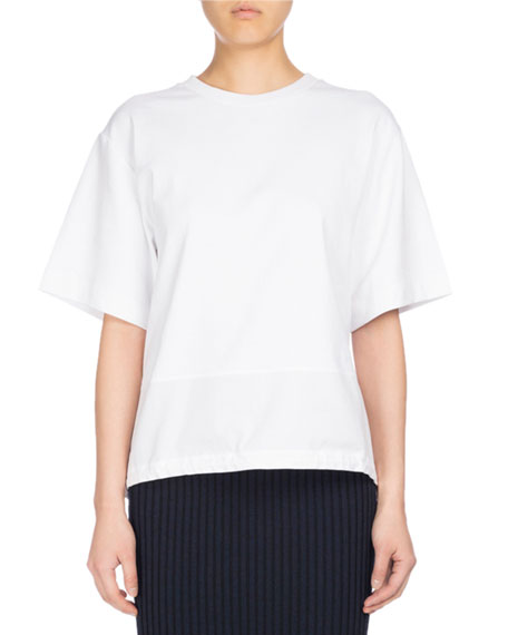 Kenzo Parka Short-Sleeve Cotton Top