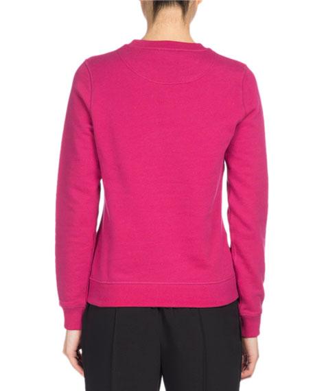 Tiger Classic Pullover Sweatshirt, Fuchsia