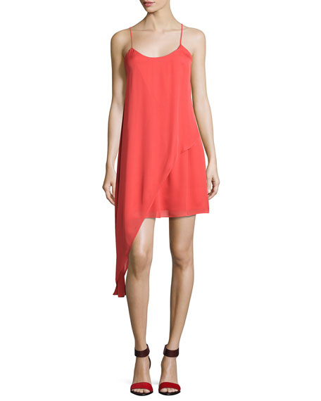 Haute Hippie The Laurel Canyon Asymmetric Mini Dress,