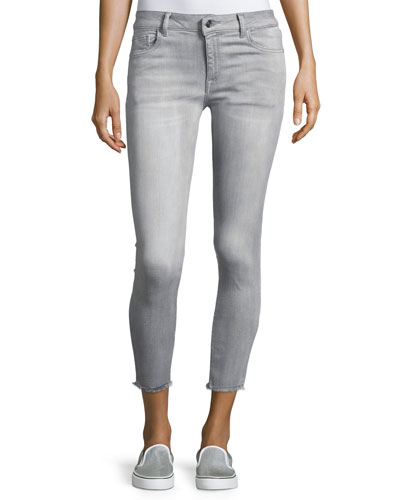Women's Skinny Jeans : Cropped, Low Rise & Mid Rise at Neiman Marcus