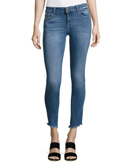 DL1961 Premium Denim Margaux Instasculpt Ankle Skinny Jeans,