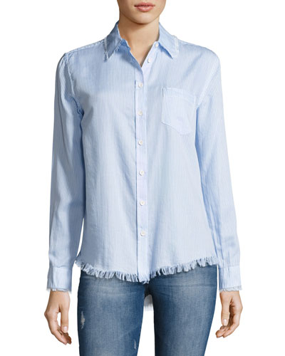 Mercer And Spring Button-Down Shirt, Blue
