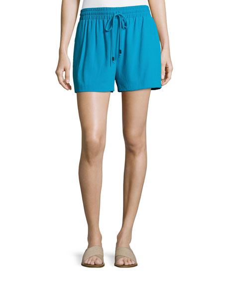Alice + Olivia Ludlow Smocked Drawstring Shorts, Multi