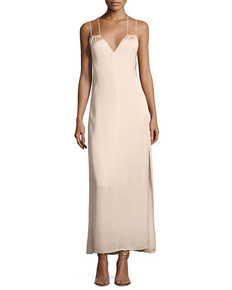 Elizabeth and James Jericho Double Spaghetti Strap Maxi