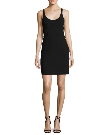 Elizabeth and James Huette Fitted Sleeveless Mini Sheath