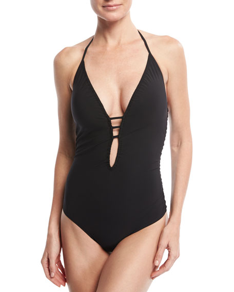 Do You Think I'm Sexy One-Piece Swimsuit, Black