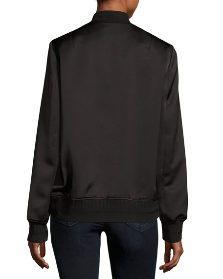 Veste Teddy Bomber Jacket, Black