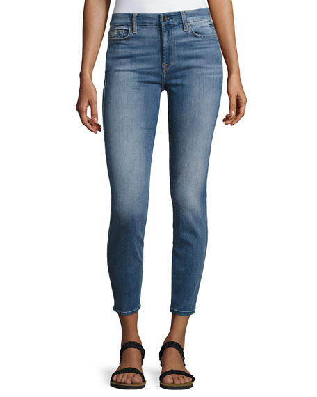 Jen7 by 7 for All Mankind Denim Ankle
