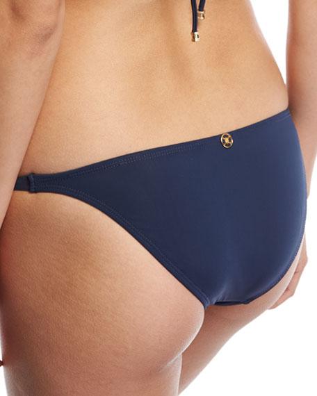 Midnight Paula Solid Swim Bottom, Blue