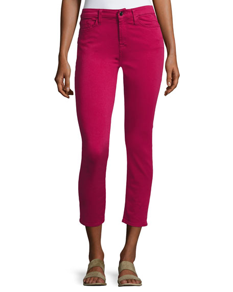 Jen7 by 7 for All Mankind Sateen Cropped