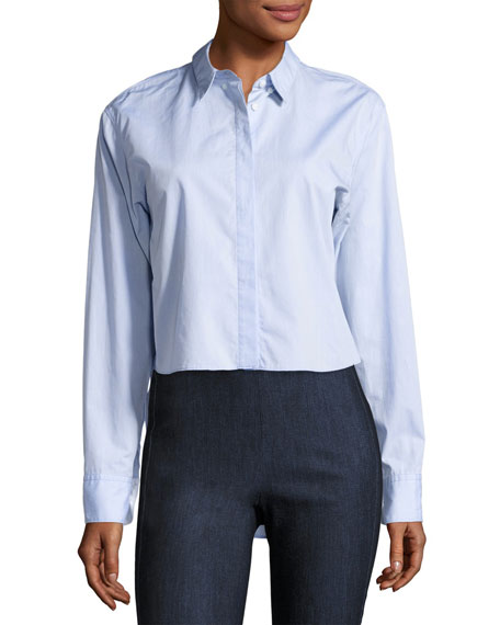 Rag & Bone Calder Reversible Long-Sleeve Button-Down Shirt,