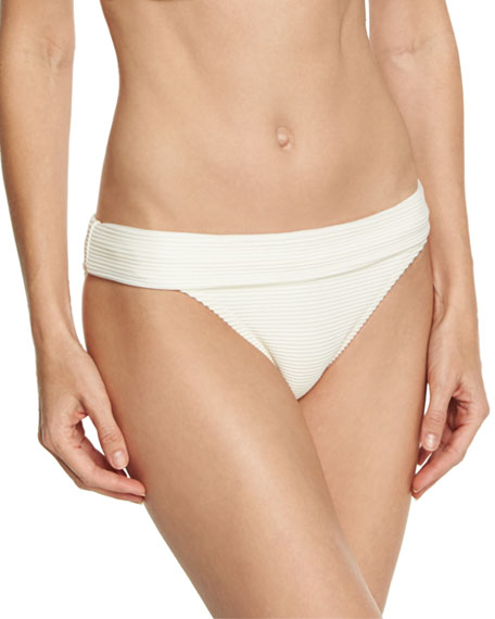 Heidi Klein Cote D' Azur Fold-Over Swim Bottom,