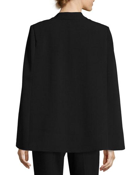 Stretch Cady Cape Jacket