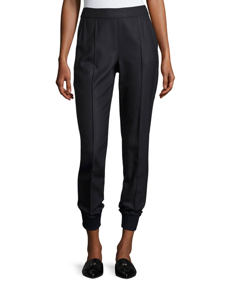 St. John Collection Birdseye Skinny Pants
