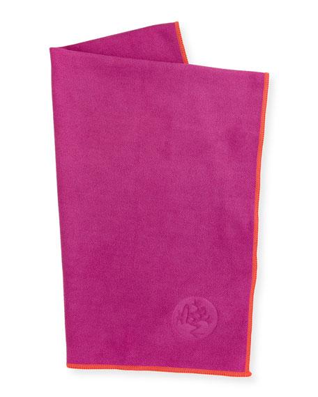 Manduka eQua® Hand Yoga Towel, Pink