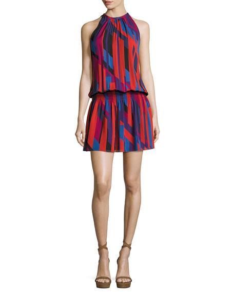 Ramy Brook Ibiza Geo Sleeveless Printed Paris Dress,