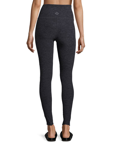 Slant Get Enough High-Waist Leggings, Black