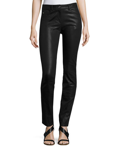 Bardot Coated Denim Slim Jeans, Black   and Matching Items