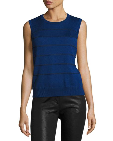 St. John Collection Bardot Coated Denim Slim Jeans,